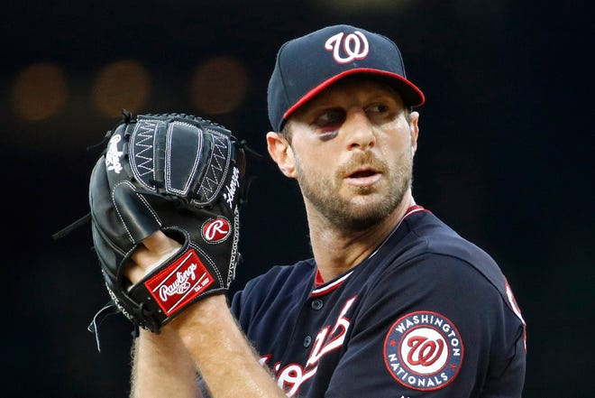 Max Scherzer will pitch at Comerica Park on Sunday, marking first start in Detroit since he signed with Washington after the 2014 season.