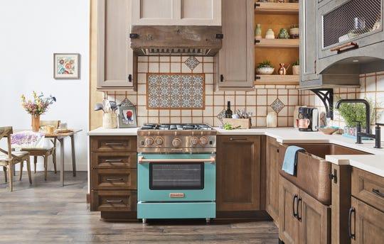 Color makes a splash in kitchens, baths