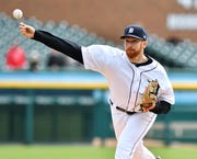 Tigers pitcher Spencer Turnbull was placed on the 10-day injury list due to a strained back.