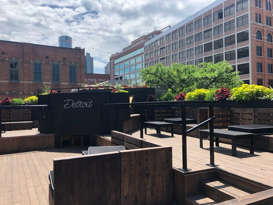New rooftop bar and lounge Delmar in Greektown.