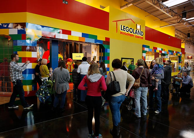 The Legoland Discovery Center Michigan at Great Lakes Crossing in Auburn Hills opened in 2016.