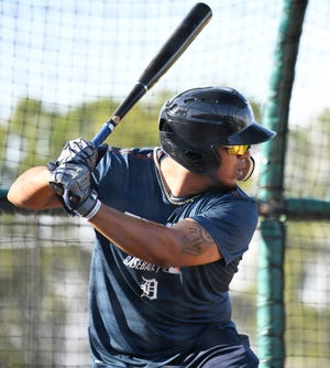 Infielder Isaac Paredes is one of three Tigers prospects to make the Futures Game.