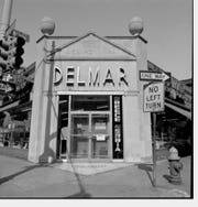 An undated photo of the building at 501 Monroe when it was the Delmar market.
