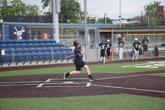 Isaac Mayer qualifies for the Jr. Home Run Derby in Kansas City.
