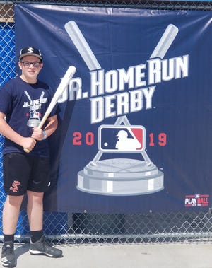 Evansville's Isaac Mayer is a 14U finalist for the MLB Jr. Home Run Derby in Cleveland on July 6.