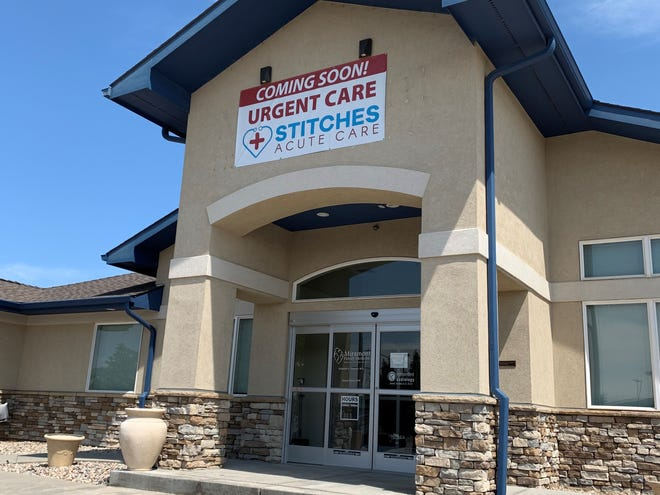 Stitches Acute Care Clinic will open July 15 at 7950 6th St. in Wellington offering urgent care and family practice medicine.