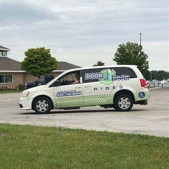 One of Door 2 Door's wheelchair accessible mini vans.