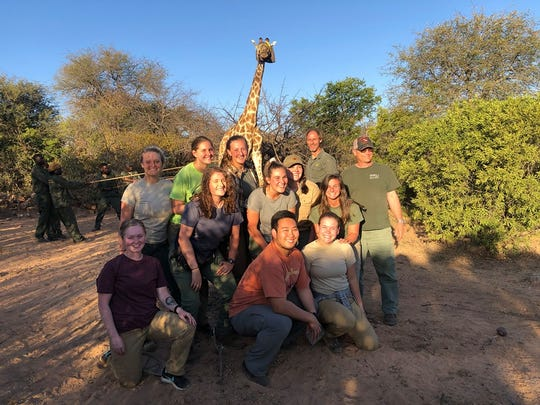 The team of Kentucky students who traveled to South Africa. Bailey Stauffer, 20, of Henderson, is in the middle row on the right (June 2019).