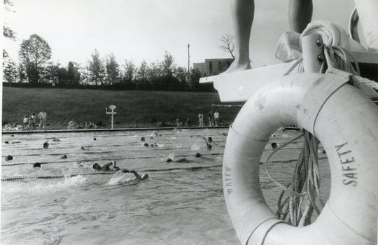 Triatholon at the Westside YMCA, May 1984.