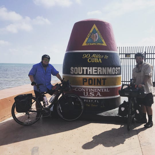 Maryville brothers Jacob and Joshua Wall are cycling across the U.S. to raise awareness for Parkinson's disease.