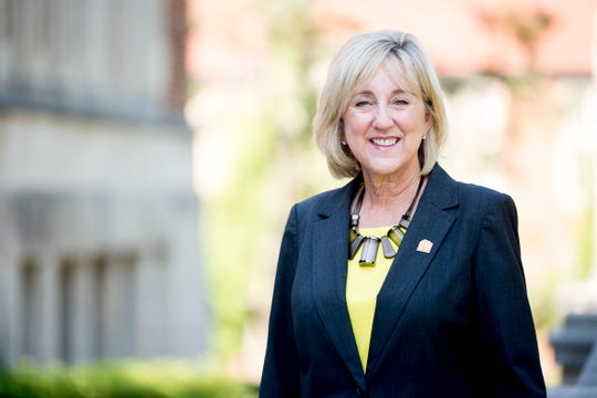 Donde Plowman will be UT's highest-paid chancellor in the university's history. She starts her new role Monday, July 1.