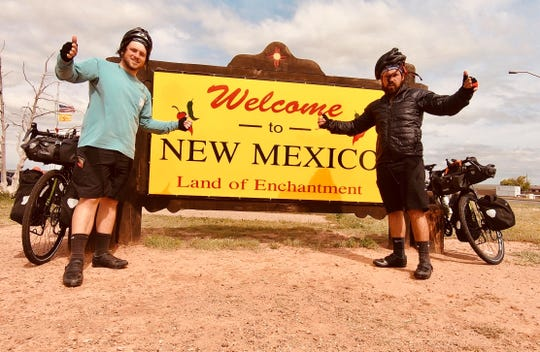 The Wall brothers cross yet another state line into New Mexico.
