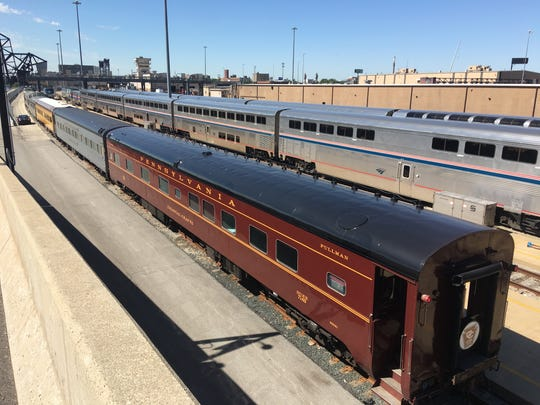 The Colonial Crafts, a private rail car that once was part of Pennsylvania Railroad's Broadway Limited between New York City and Chicago, will run with Amtrak's final Hoosier State trip between Indianapolis and Chicago on Sunday, June 30, 2019. The Hoosier State will stop running after Indiana cut $3 million in annual funding for the Amtrak line.