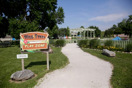 The Wild Tykes play zone will be torn down and a new carousel be constructed in its place, Friday, June 28, 2019 at Columbian Park in Lafayette.