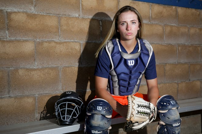 Harrison catcher Kiley Goff is the Journal & Courier Big School Softball player of the year, Thursday, June 27, 2019 in West Lafayette.