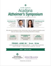Lafayette General hosted its third annual Acadiana Alzheimer's Symposium along with Alzheimer's Association Friday morning.