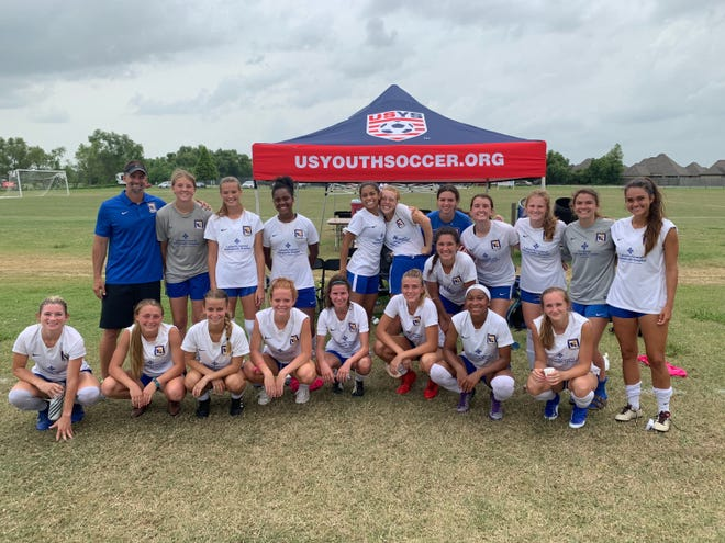 The Cajun Soccer Club 18/19 Academy played in the USYS Regional Championship.