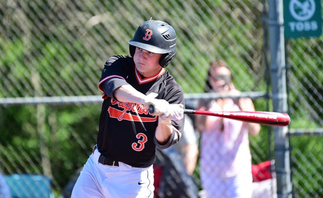 Brighton's Zach Hopman hit 19 home runs on his way to making the all-state baseball Dream Team.