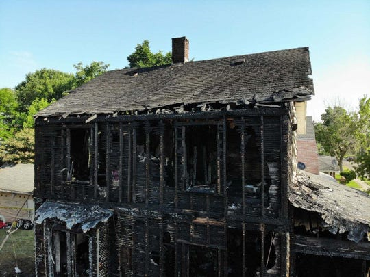 The house on South Foster Street where 3-year-old Chloe Williams died of smoke inhalation after an arson-related fire early Wednesday morning.