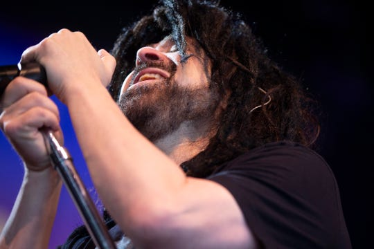 Counting Crows performs at the Outlaw Music Festival at the American Family Insurance Amphitheater on June 27, 2019.