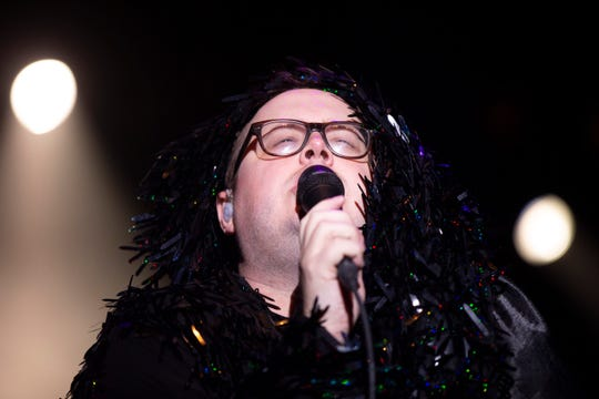 St. Paul and the Broken Bones frontman Paul Janeway sings at Summerfest's Briggs & Stratton Big Backyard on June 27, 2019.