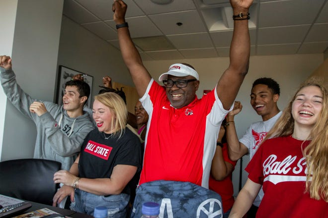 Henry Hall, a new member of the Ball State University board of trustees, played football at the school and is an avid fan.