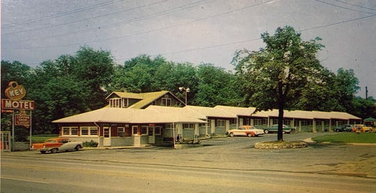 The Key Motel during the late in 1950s.