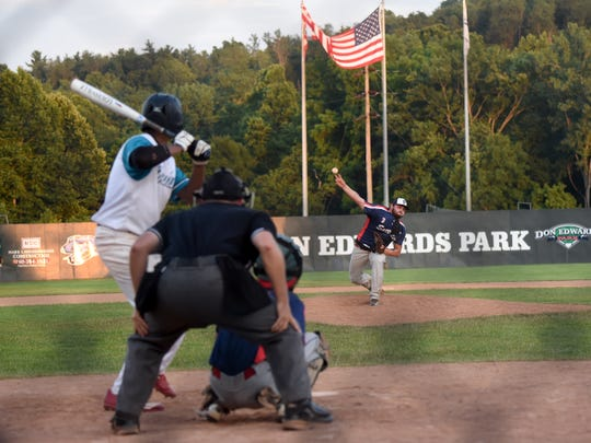 The Licking County Settlers, who merged with Voodoo Baseball to form the Ohio Bison, host the Midwest Marlins in an 18U game at Don Edwards Park last June. The Bison and the Marlins each have teams in the Central Ohio Youth Baseball League, which is hoping to begin its postponed seasons June 1 if Gov. Mike DeWine lifts his stay-at-home order and loosens his restrictions on large gatherings in May.