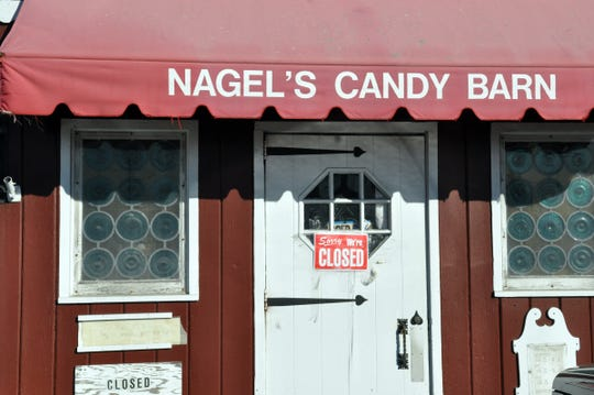 The exterior of Nagel's store in Wayne in February 2002.
