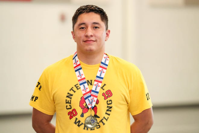 Centennial wrestler Marco Rodriguez is the 2019 Sun-News Male Athlete of the Year.