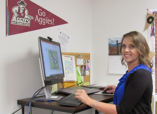 Heidi Crnkovic has been hired as the new 4-H agent for the Otero County Cooperative Extension Service office. Crnkovic was raised in northern New Mexico and spent much of her time as a youth on the Pecos River Ranch and participating in 4-H activities.