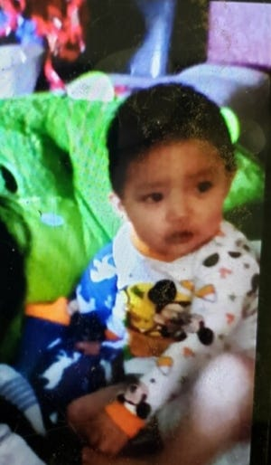The Navajo Nation Police Department is searching for one-year-old Kyron Kelewood who went missing in the Shiprock area on June 27. He was last seen wearing gray short pants, blue shoes and a beige shirt.
