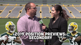Ryan Wood and Olivia Reiner take a look at the Packers' secondary heading into training camp and the 2019 season.