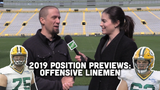 Jim Owczarski and Olivia Reiner take a look at the state of the Packers' offensive line heading into training camp and the 2019 season.
