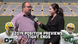 Ryan Wood and Olivia Reiner take a look at the Packers' tight end depth chart heading into training camp and the 2019 season.