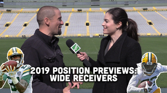 Jim Owczarski and Olivia Reiner take a look at the Packers' wide receiving corps heading into training camp and the 2019 season.