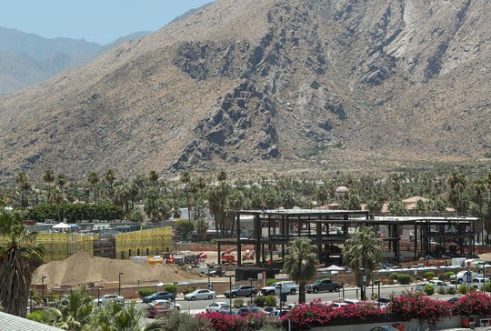 The Agua Caliente Cultural Museum is currently under construction in downtown Palm Springs. A Desert Sun reader argues that a new plan for a nearby sports arena is too much for the area.