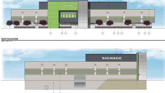 Redevelopment plans for the old JCPenney at the Metrocenter Mall in Phoenix.