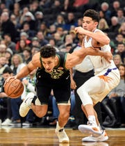 Could Malcolm Brogdon thrive in the same backcourt as the Phoenix Suns' Devin Booker?