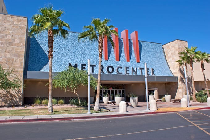 Metrocenter opened in 1973 near Peoria and 35th avenues in Phoenix as one of the largest malls in the country at the time.