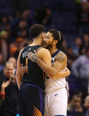 How would Derrick Rose fare as Devin Booker's teammate on the Phoenix Suns?
