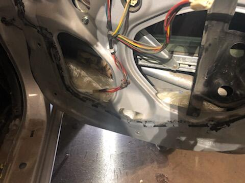 26.4 pounds of meth were found in the door panels and spare tire of a Toyota Corolla at a border checkpoint near Blythe on Tuesday. In another stop, another 5 pounds of meth were found.