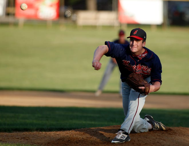 Manchester's Michael Houseal pitched six shutout innings on Tuesday in a win over Hallam.