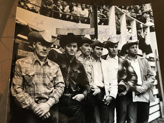 Reno's Lyle Smith, left, is in the Canadian Pro Rodeo Hall of Fame.