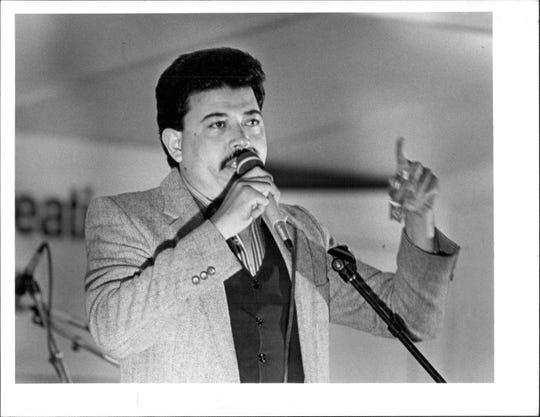Heriberto Rivera was the 1985 Puerto Rican Festival coordinator.