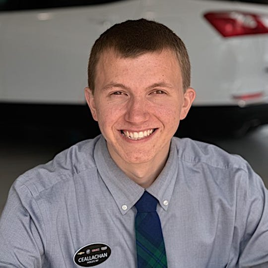 Ceallachan Kelly, sales consultant at Bob Johnson Chevrolet, sees the benefits of connected cars for drivers.