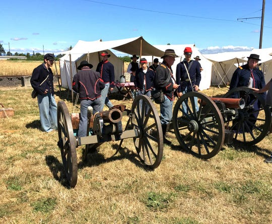 A Civil War Reenactment will be from Thursday to Sunday, July 4-7, at Powerland Heritage Park.