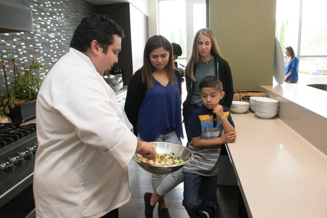Chef Estevan Jimenez, Executive Chef Drummond Culinary Academy from Rancho Cielo talking about easy healthy recipes.