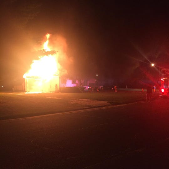 Fire departments from Salisbury, Parsonsburg, and Hebron responded Thursday night to a house fire on Bryn Mawr Avenue in Salisbury.