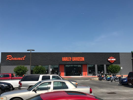 Rommel Harley-Davidson opened Friday at the former location of the Gander Mountain on North Salisbury Boulevard.